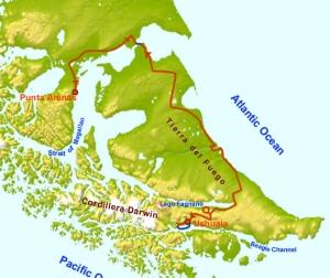 ushuaia-map